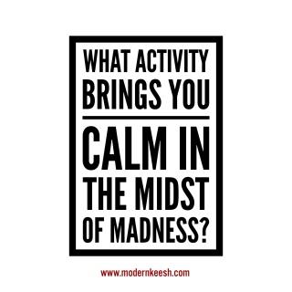 calm activity